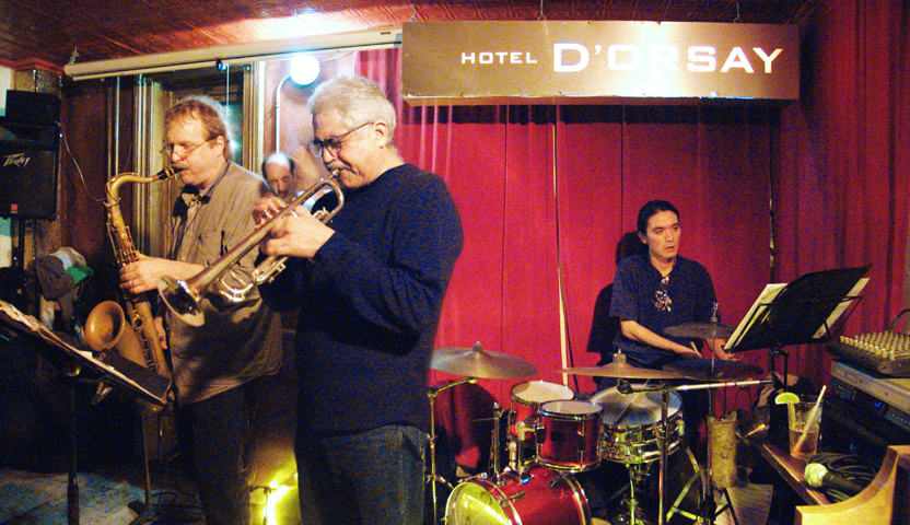 Dave Scott Quartet with Rich Perry, John Hebert and Take Toriyama - Barbs 2005