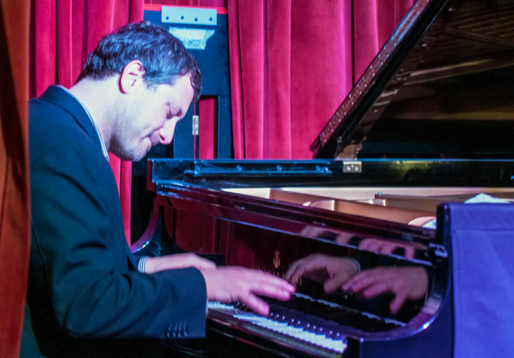 Jeremy Manasia with the Javon Jackson Quartet at Smoke Jazz Club in New York City