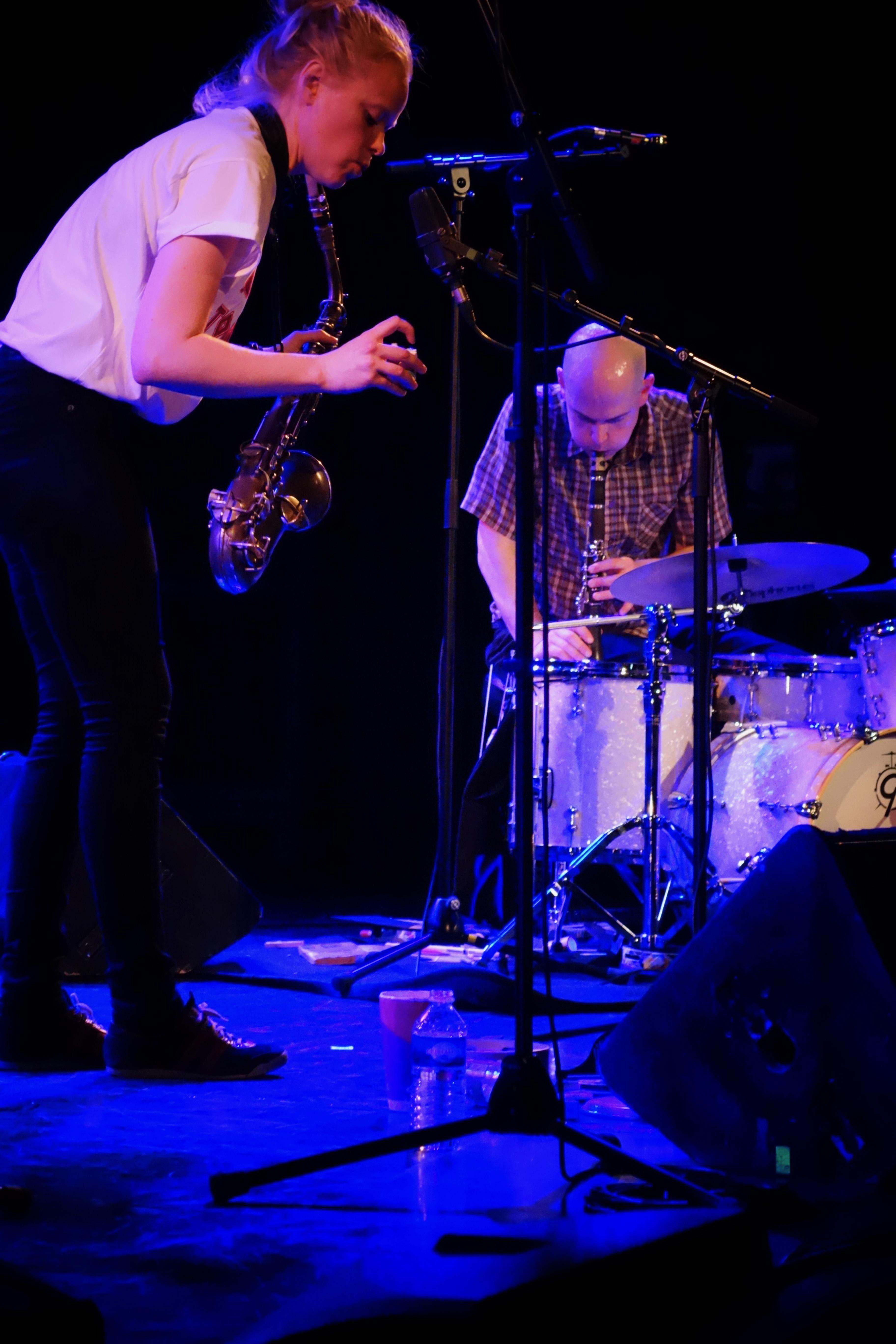 Mette Rasmussen/Chris Corsano - Jazzdor Strasbourg 2017