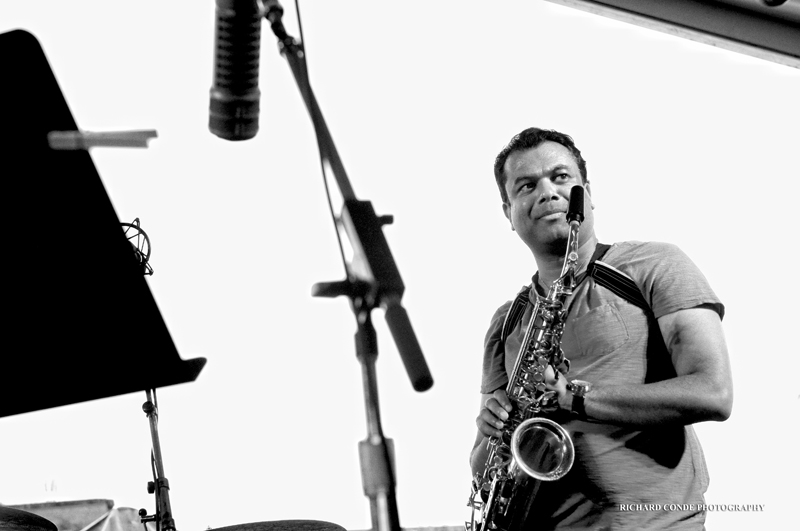Rudresh Mahanthappa / Newport Jazz Festival 2011