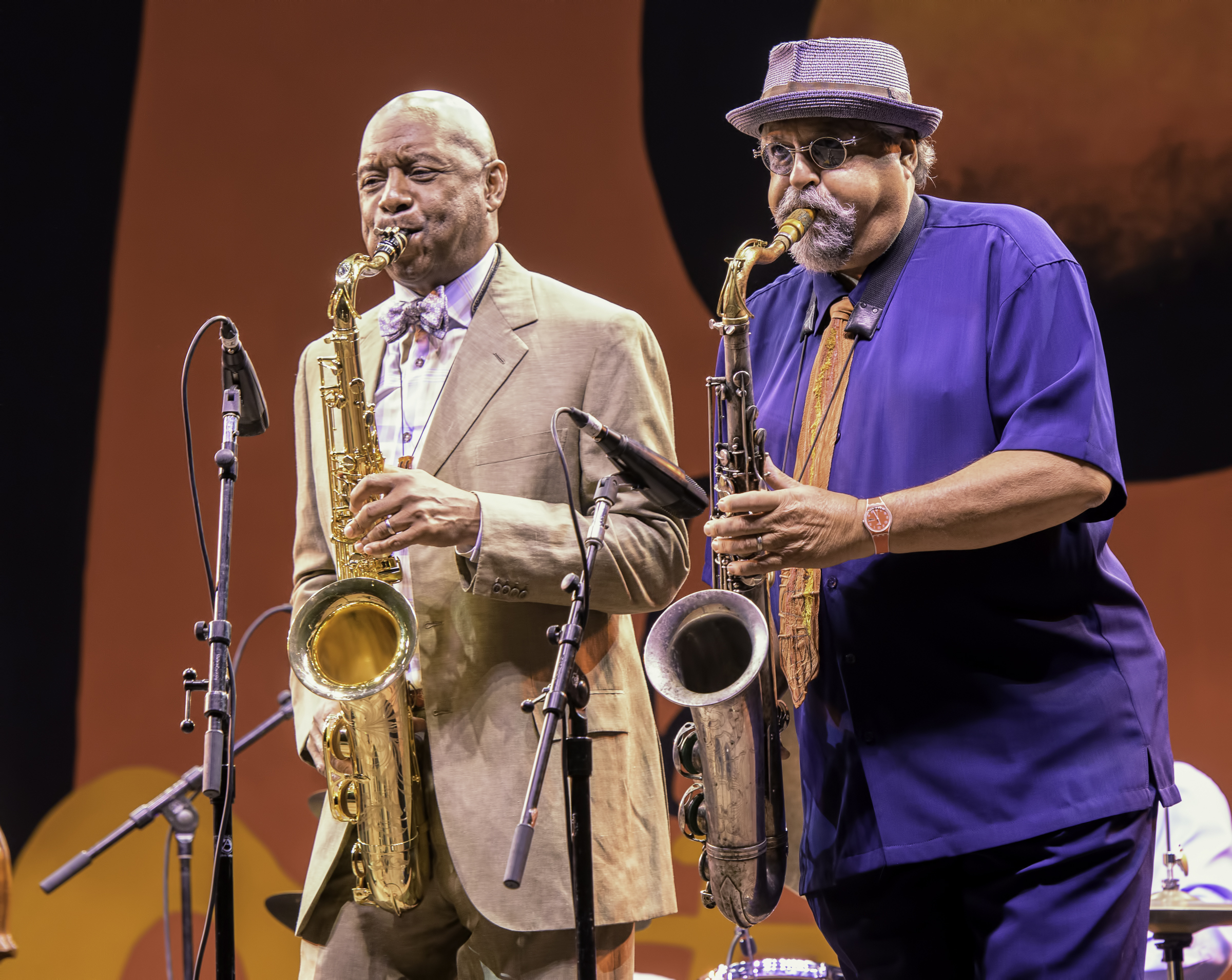 Branford Marsalis and Joe Lovano with A Tribute to Sonny Rollins at the Monterey Jazz Festival