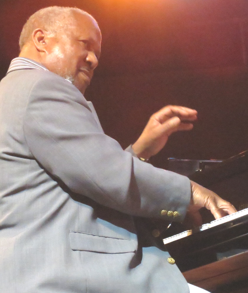Willie pickens special guesting with donald harrison quintet at 2013 chicago jazz festival