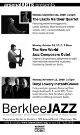 arsenalARTS Berklee Jazz Announces Fall 2010 Concerts
