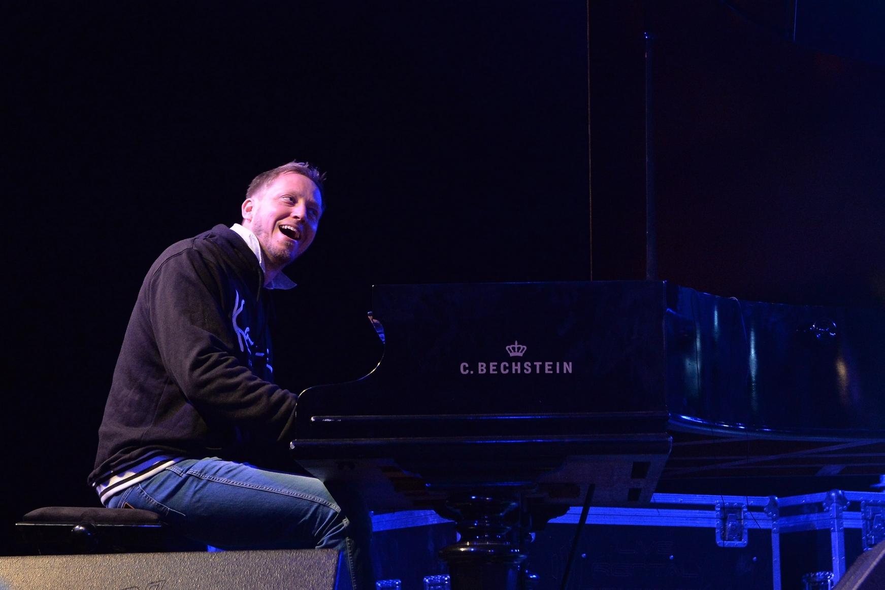 Martin Tingvall at Smida Jazz Festival 2017