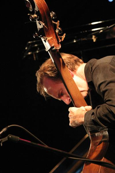 Drew Gress at Cully Jazz Festival, Switzerland, 2005