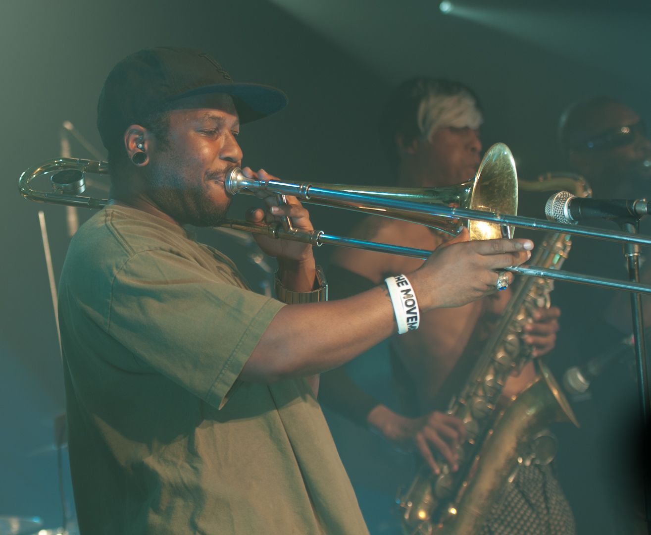 Jay Armant with Fishbone at the Montreal International Jazz Festival 2012