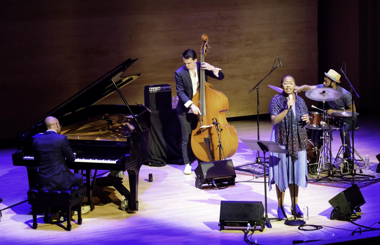 Aaron Diehl, Paul Sikivie, Cecile Mclorin Salvant And Lawrence Leathers At The Musical Instrument Museum (mim) In Phoenix