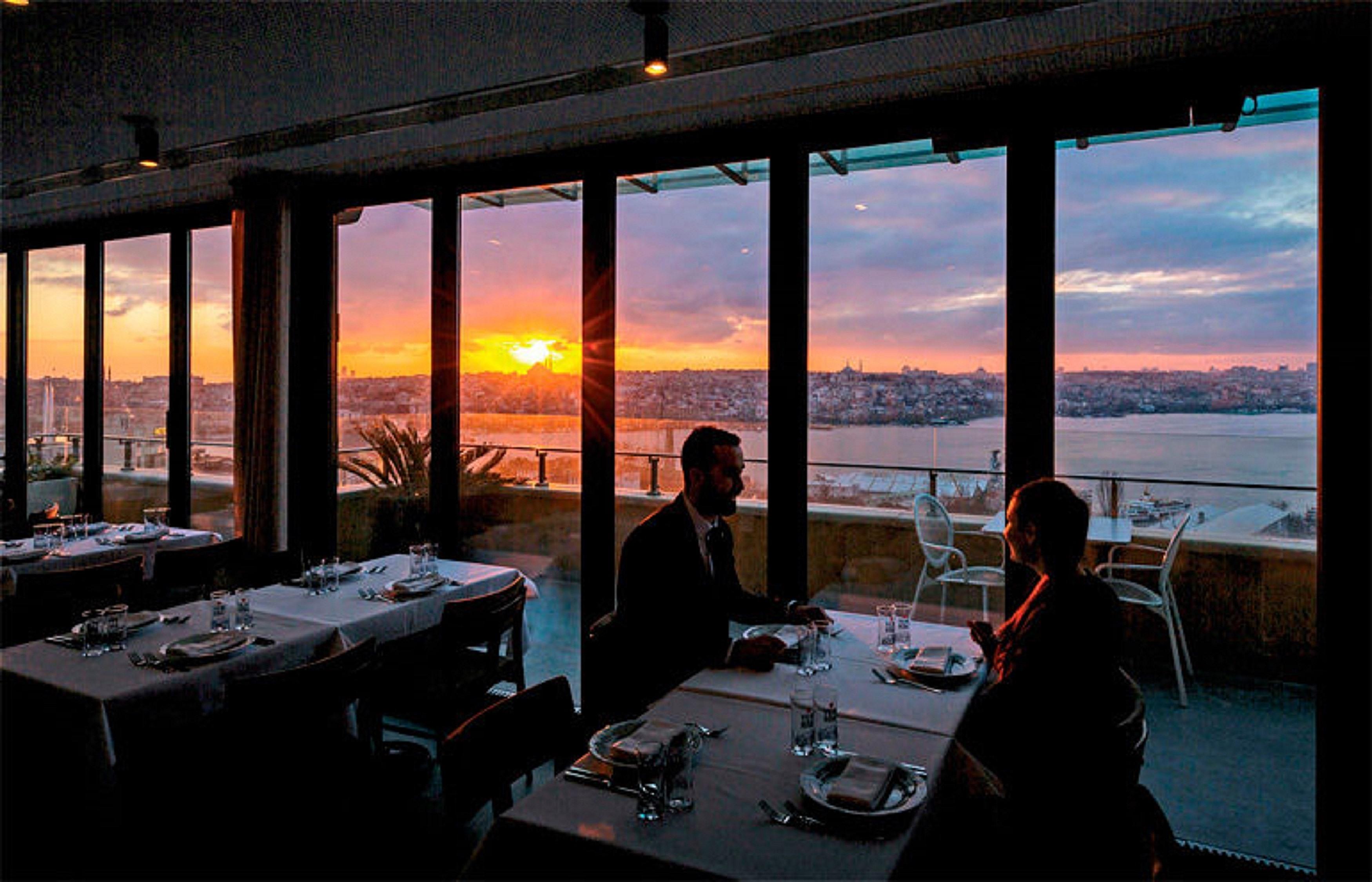 Firuze Restaurant IKSV Building Istanbul