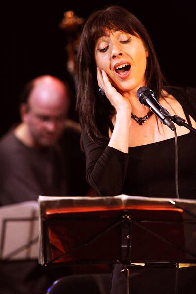 """Diana Torto and Ivor Malherbe with the """"Kenny Wheeler & the Geneva Dowtown Orchestra - The Sweet Little Suite"""", Sud Des Alpes, A"""