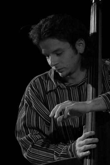 Michal Baranski of Zbigniew Namyslowski Quintet - Gdansk in Jan. 2006