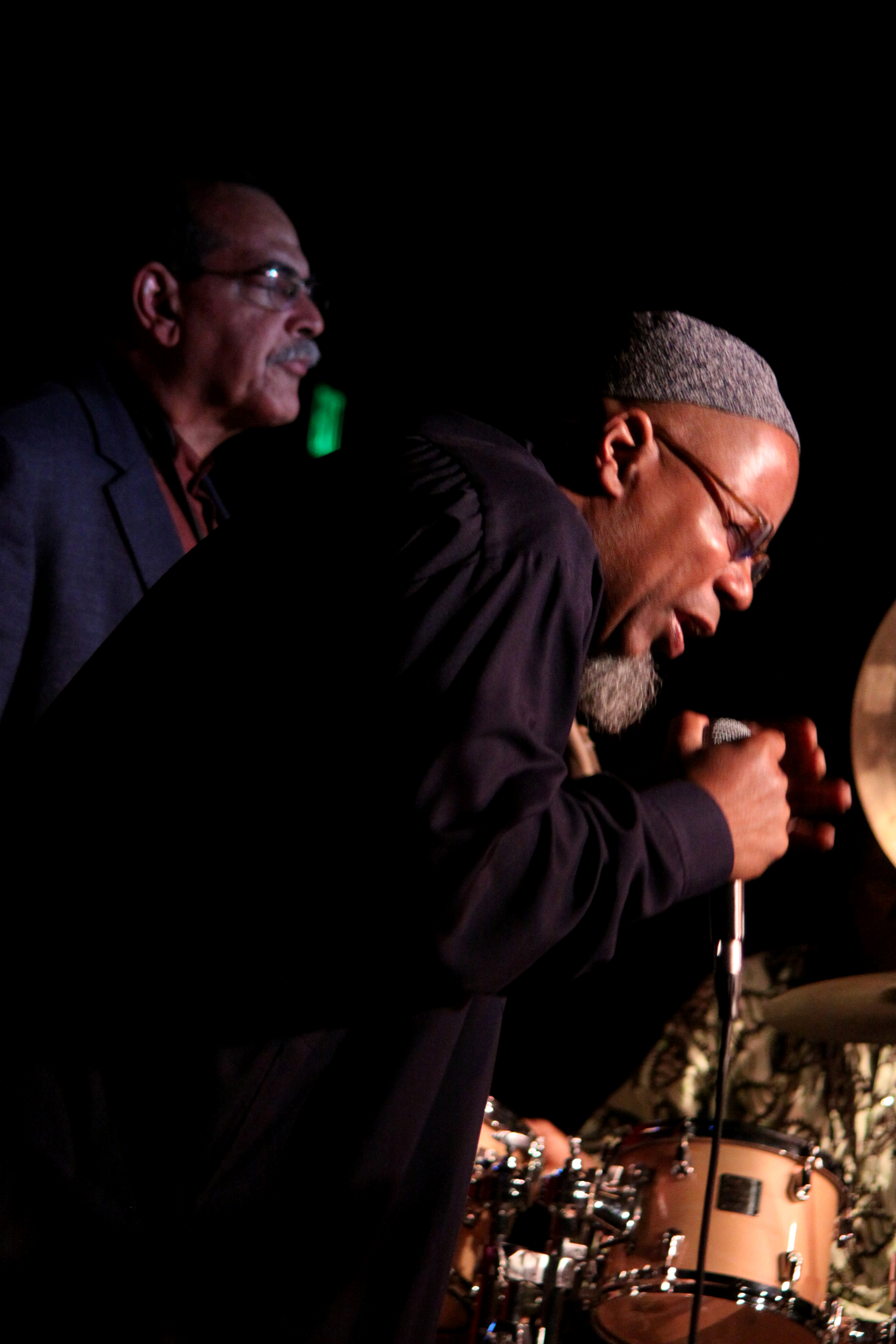 Dwight Trible and Ernie Watts