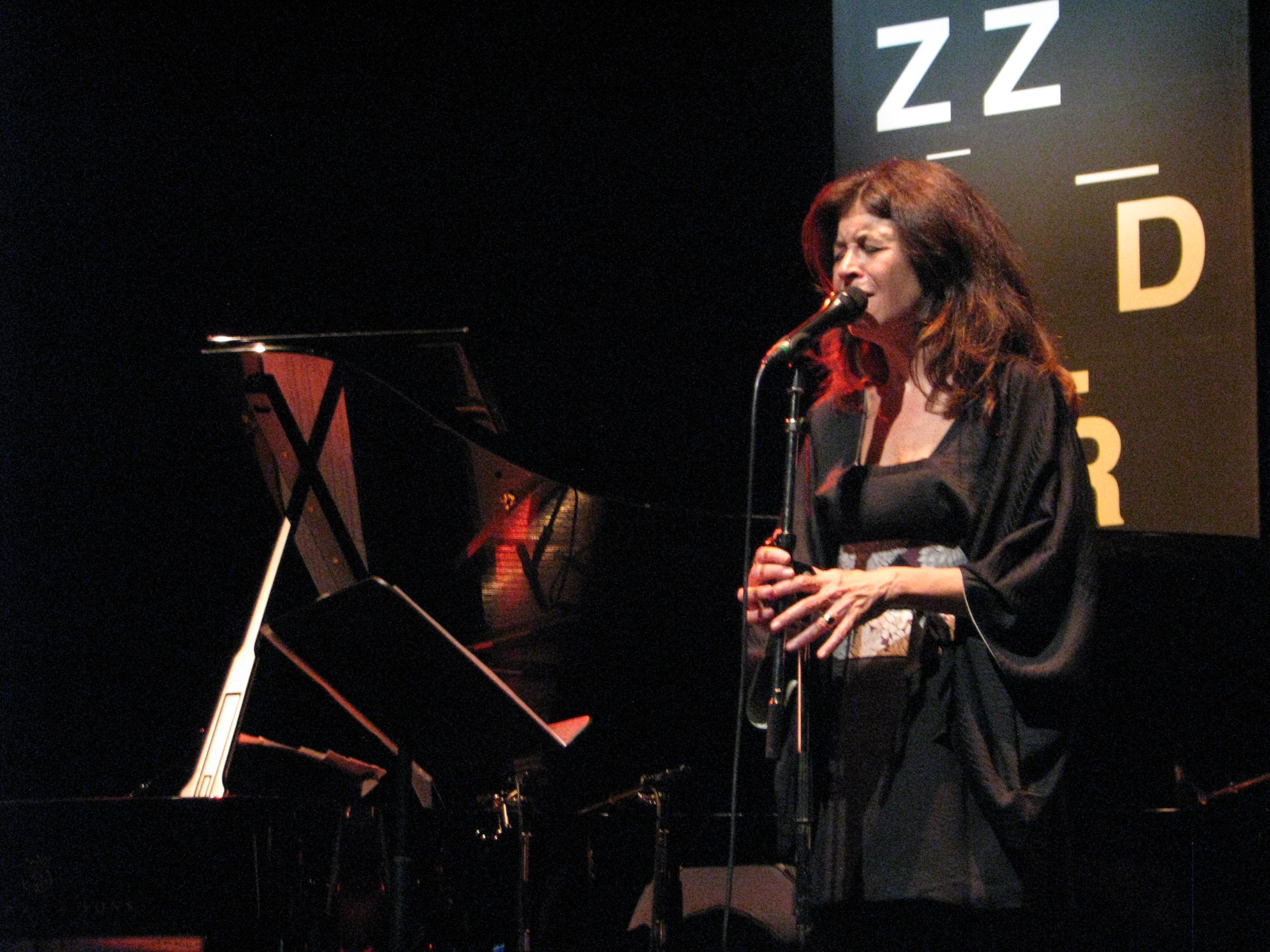 Maria Pia De Vito Jazzdor Strasbourg 2015