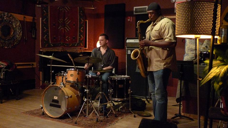 George Spanos/Lawrence Clark @ The Lilly Pad in Boston, MA.