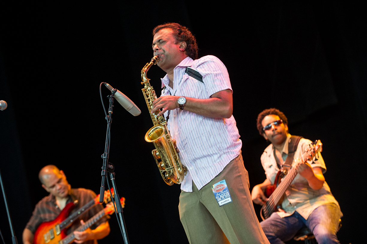David ficuzynski dan weiss and radresh mahanthappa at the saratoga jazz festival 2013
