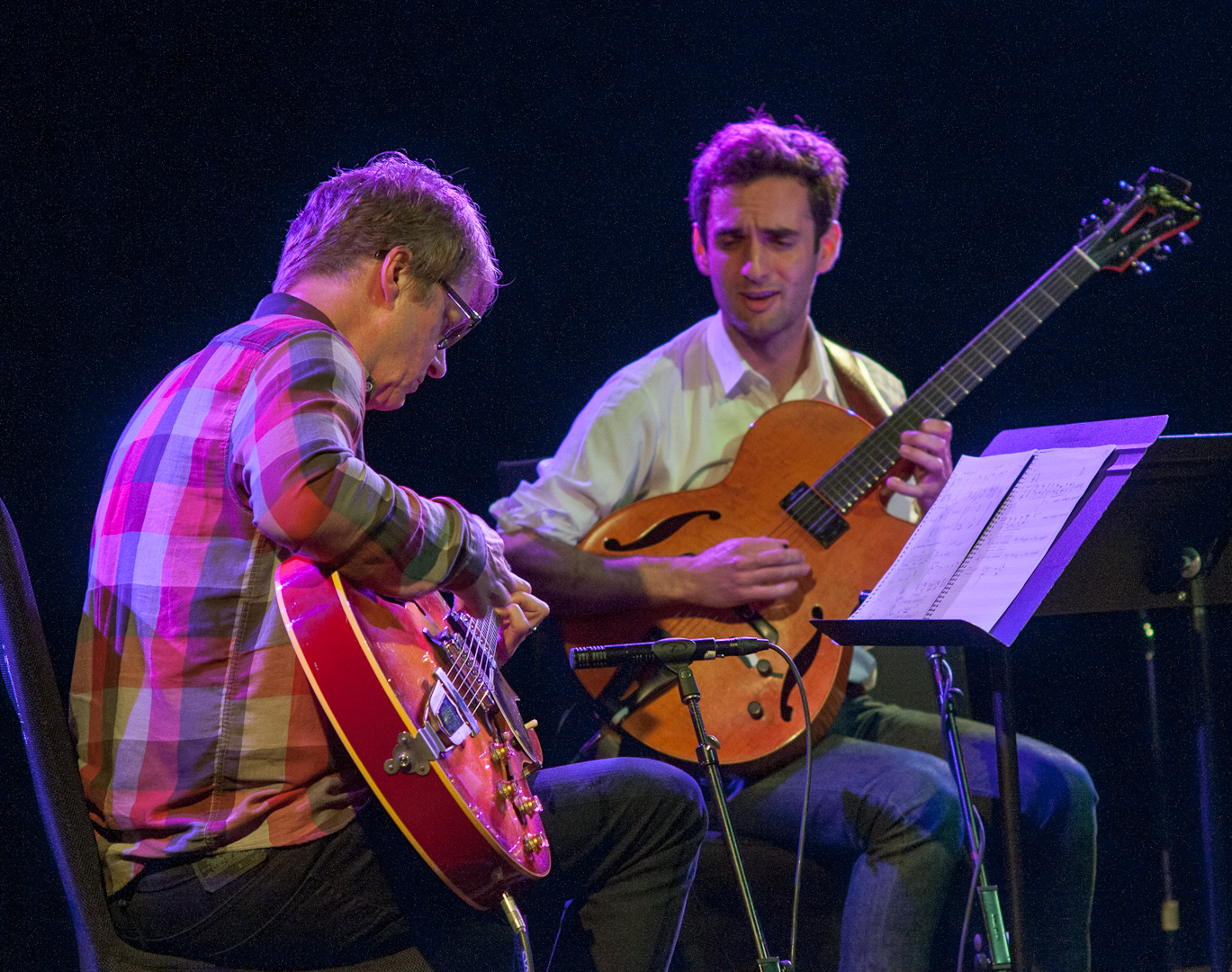 Nels Cline and Julian Lage at le Poisson Rouge