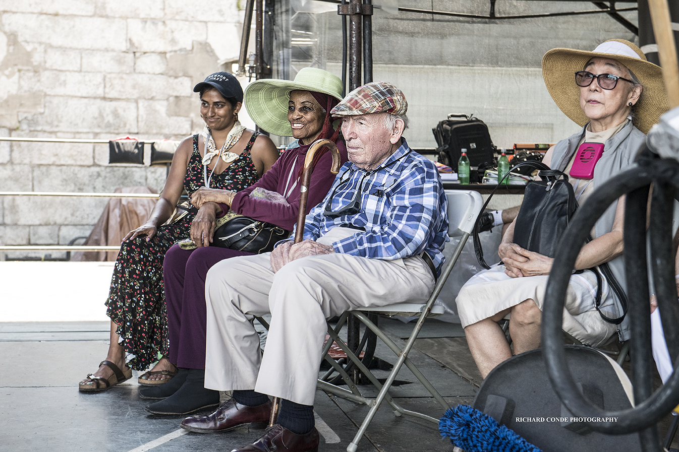 George Wein At The 2018 Newport Jazz Festival
