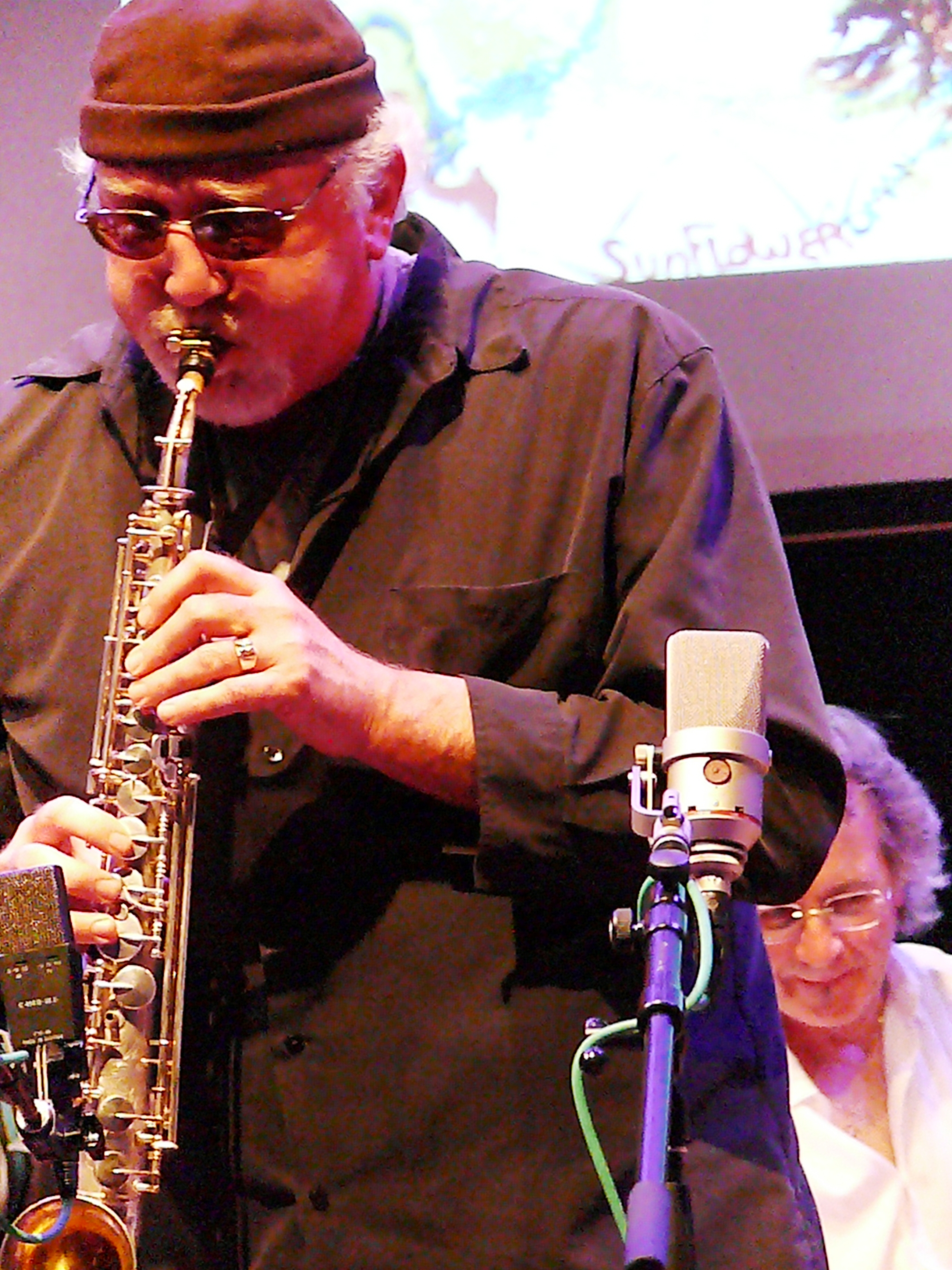Joe Giardullo at the Vision Festival, NYC in June 2012