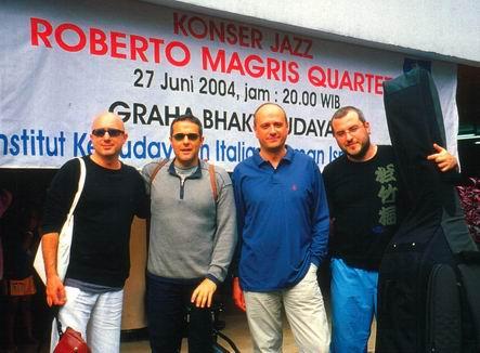 Roberto Magris Quartet in Jakarta, Indonesia