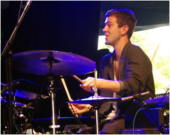 Duncan bellamy, portico quartet, love supreme jazz festival