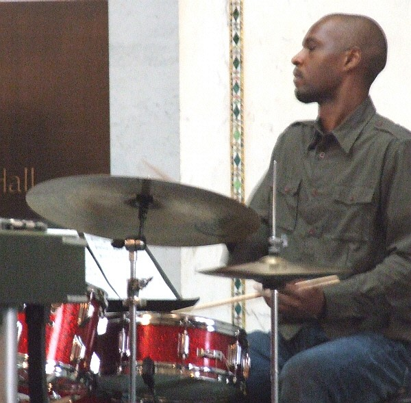 Andre Beasley with Mallet Madness at 2010 Chicago Jazz Festival