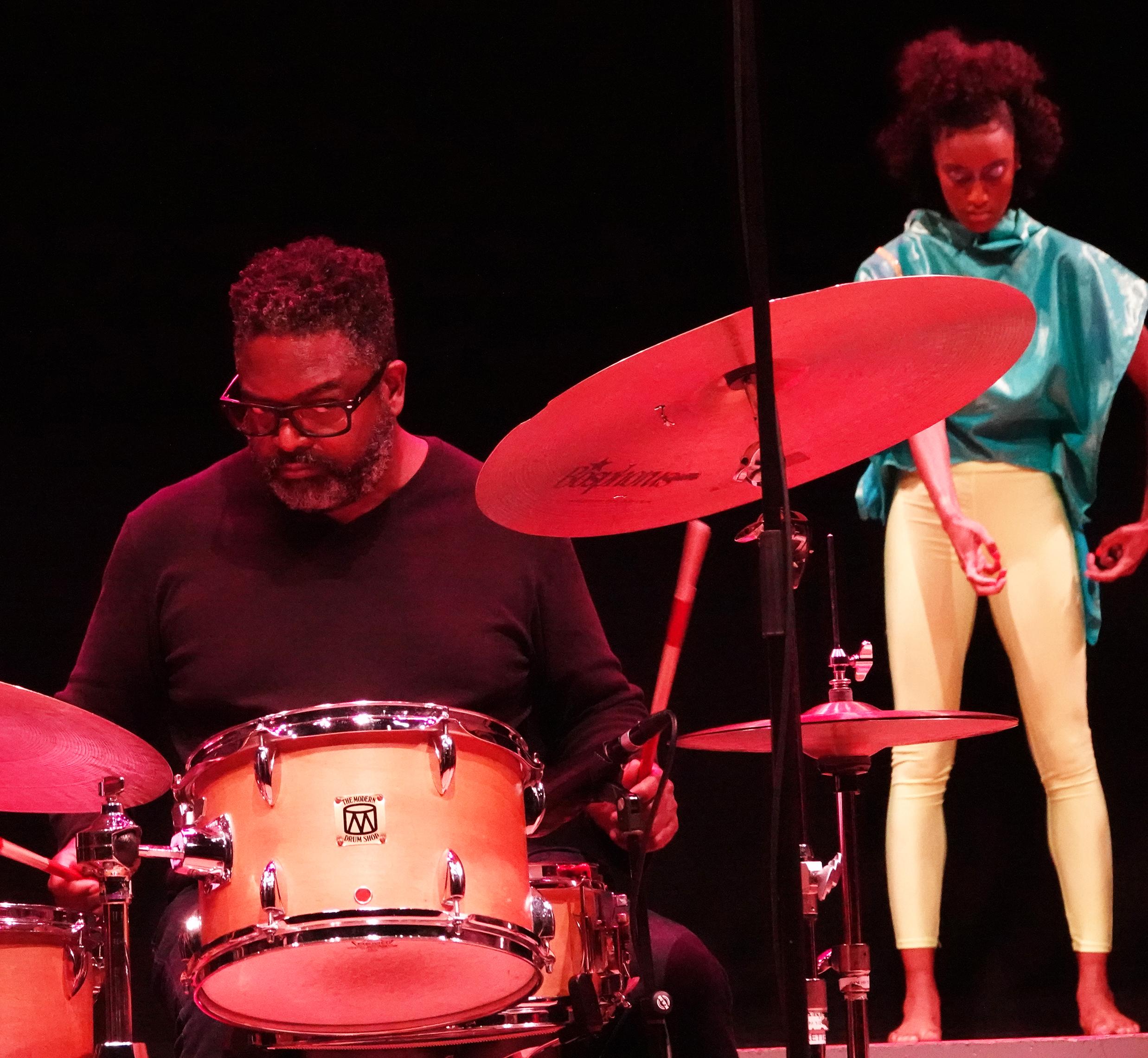 Gerald Cleaver & Mikaila Ware at 24th Annual Vision Festival