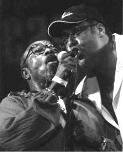 2004 Chicago Jazz Festival, Saturdayl: James Moody (Left) and Jon Faddis