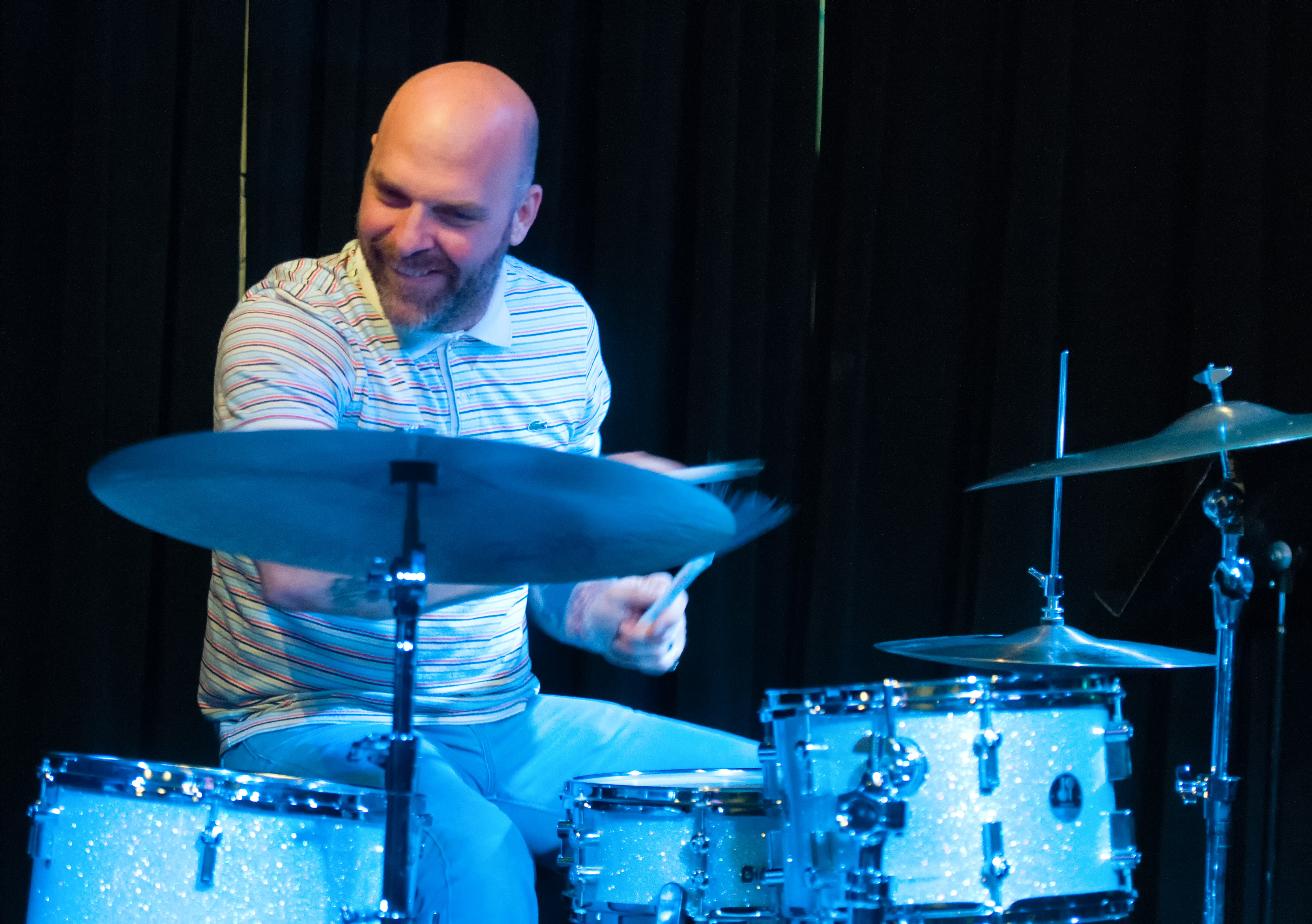 Dave King with the Chris Speed Trio at the Nash in Phoenix