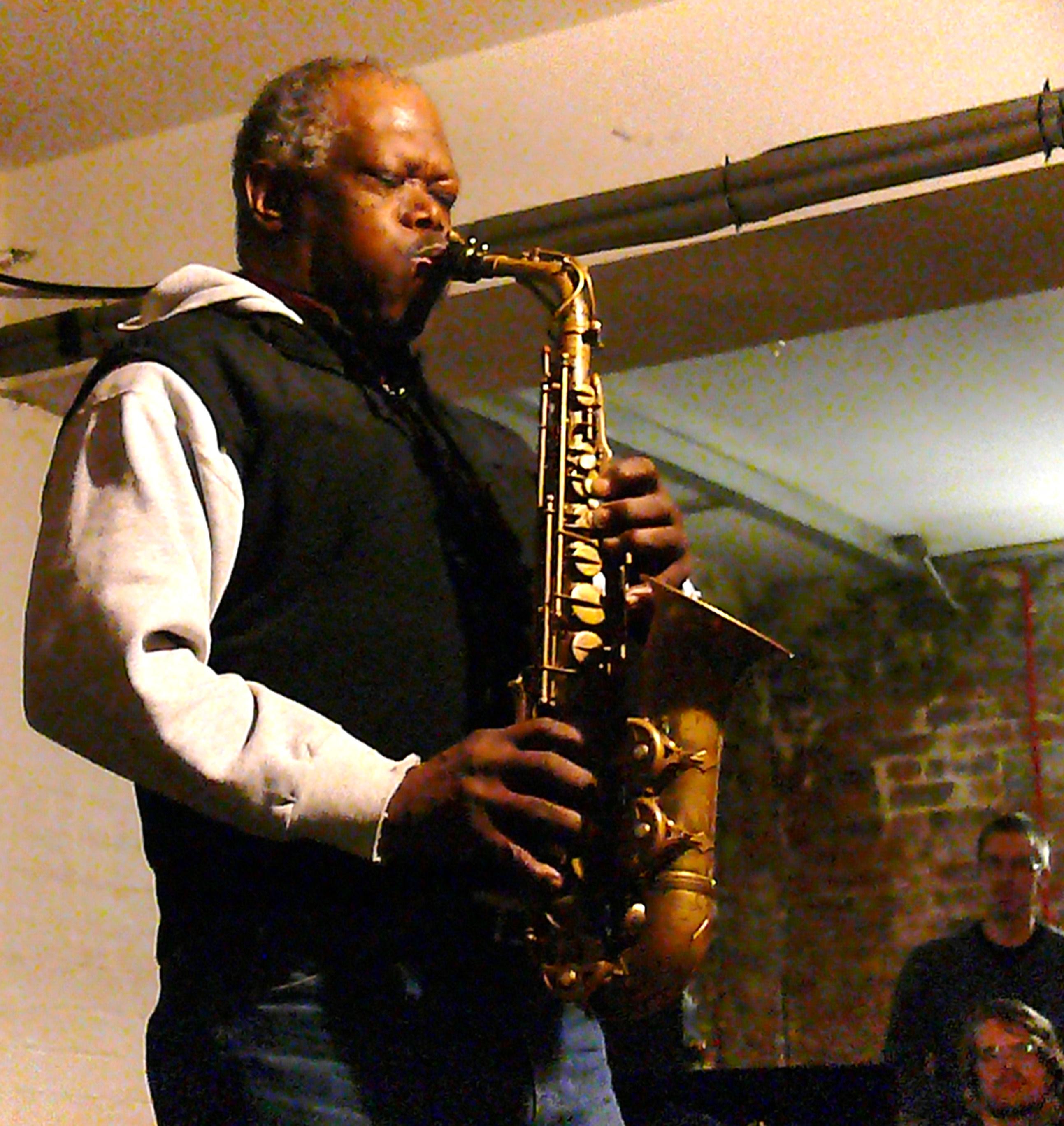 Joe McPhee at Cafe Oto, London, March 2010