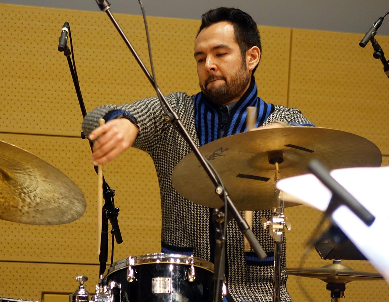 Tomas Fujiwara at NYC Winter JazzFest 2016