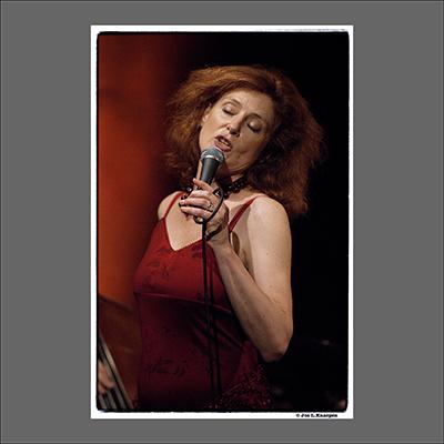 Judy Niemack, the Music Village, Brussels Belgium, September 2005