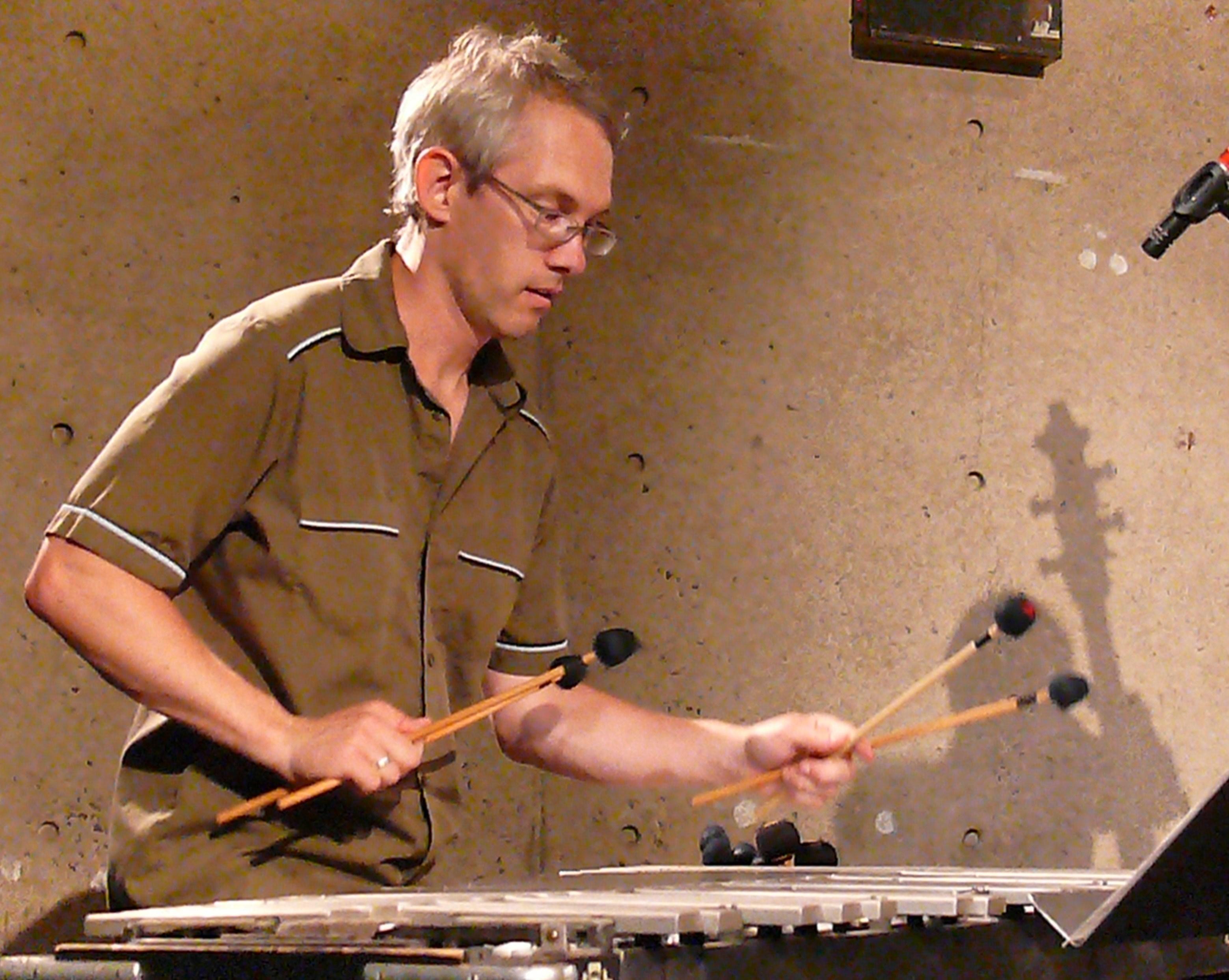 Matt Moran at Vision Festival 2011