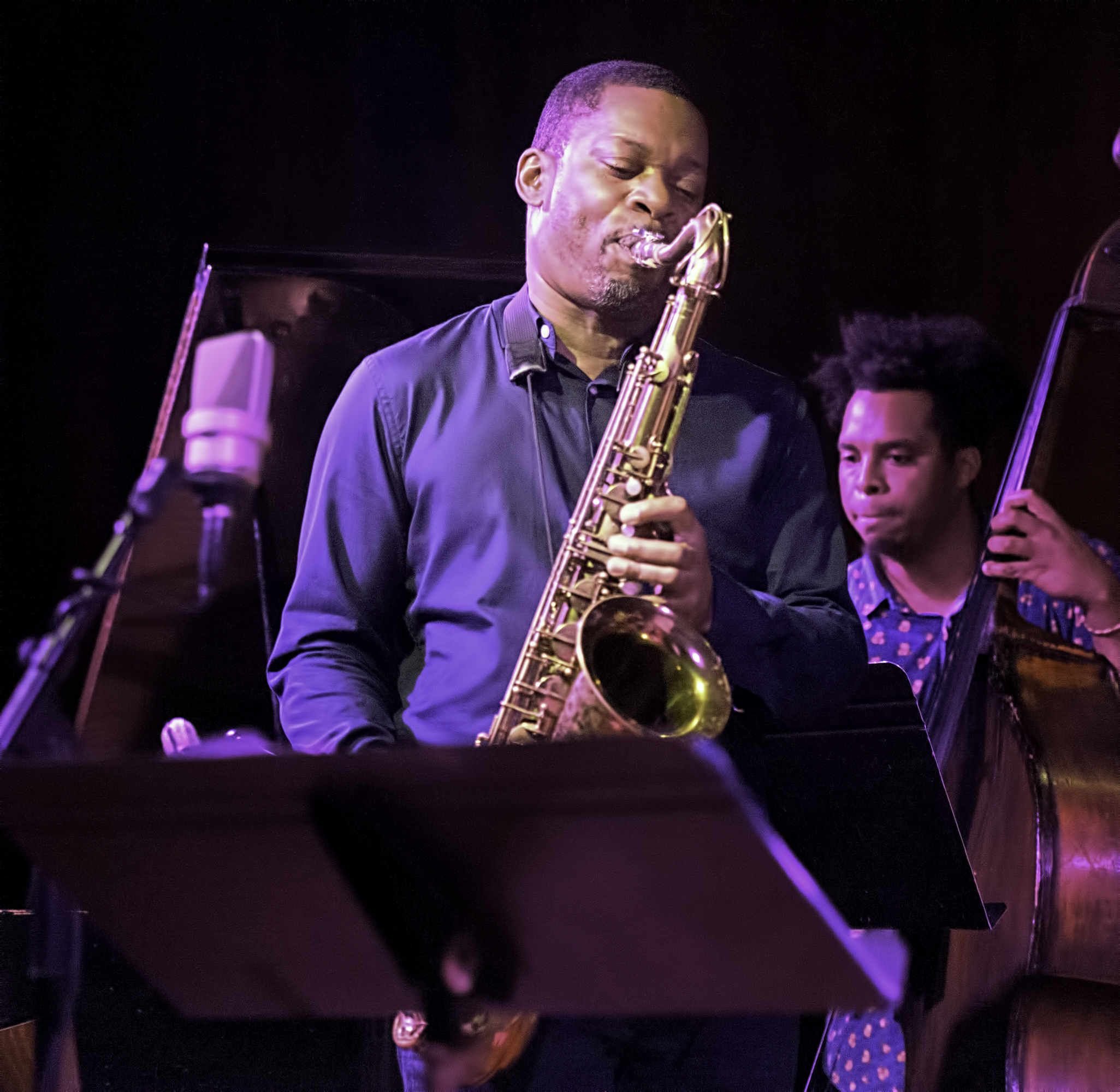 Ravi Coltrane and Rashaan Carter with Universal Consciousness: Melodic Meditations of Alice Coltrane at the Jazz Gallery
