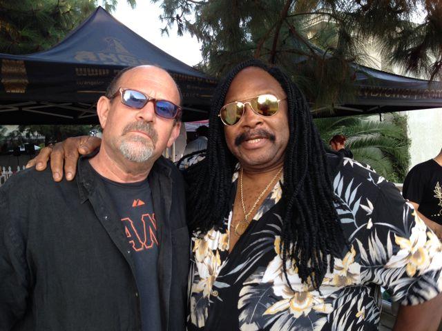Me & Alphonse Mouzon @angel City Jazz Fest
