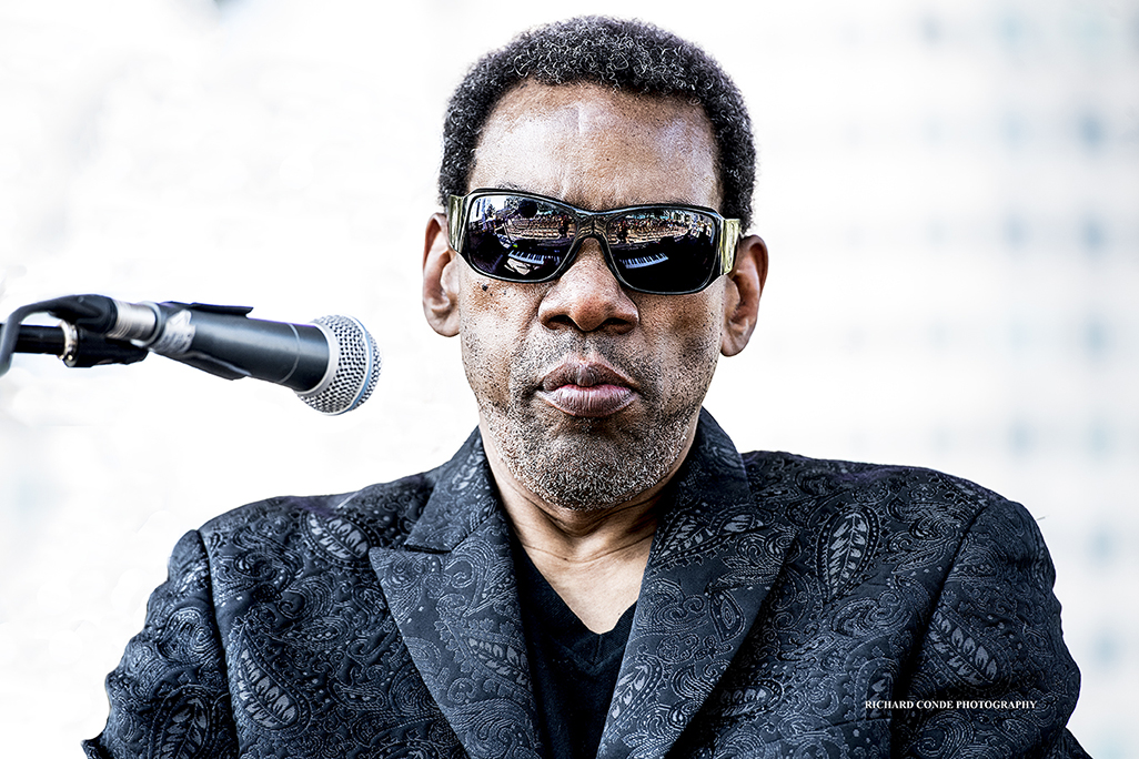 Henry Butler at the 2017 Detroit Jazz Festival