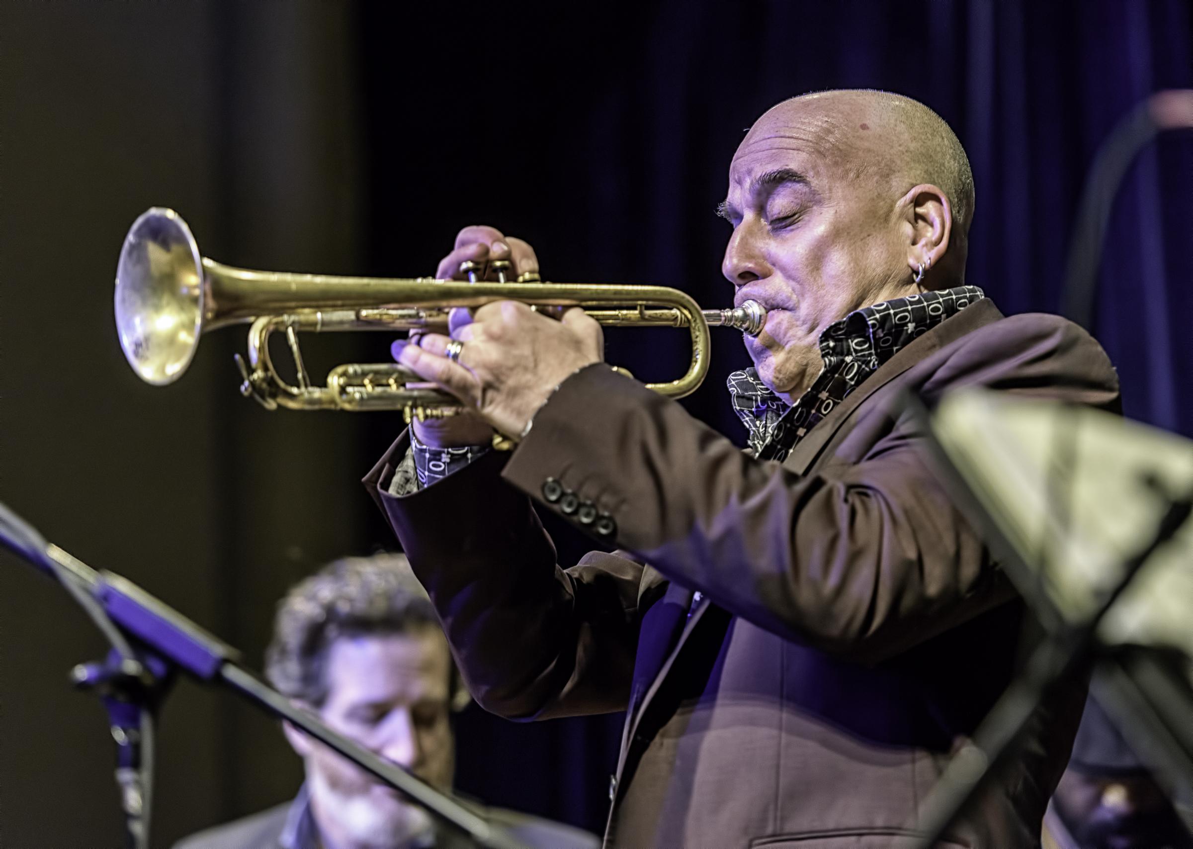 Steven Bernstein with Butler, Bernstein and the Hot 9 at the NYC Winter Jazzfest 2016