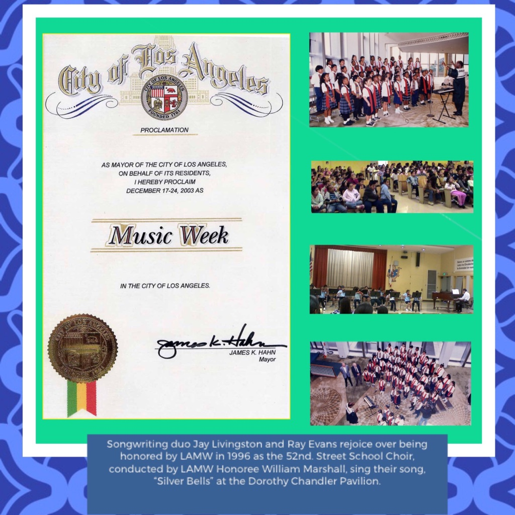 Los Angeles Music Week Events and Honorees