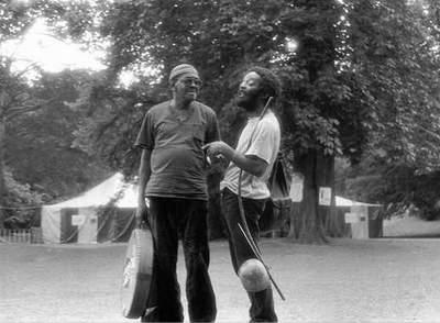 Nana Vascocellos & Ed Blackwell - Antwerpen, 1985.