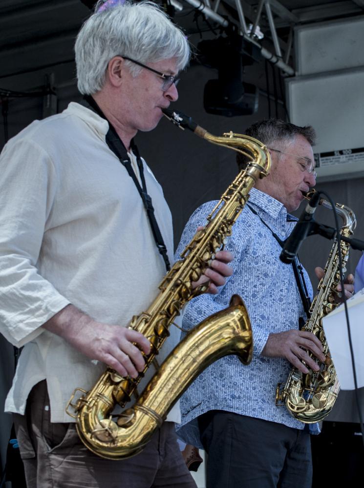 Mike Murley & Vern Dorge - Toronto Jazz Festival 2017 - Toronto