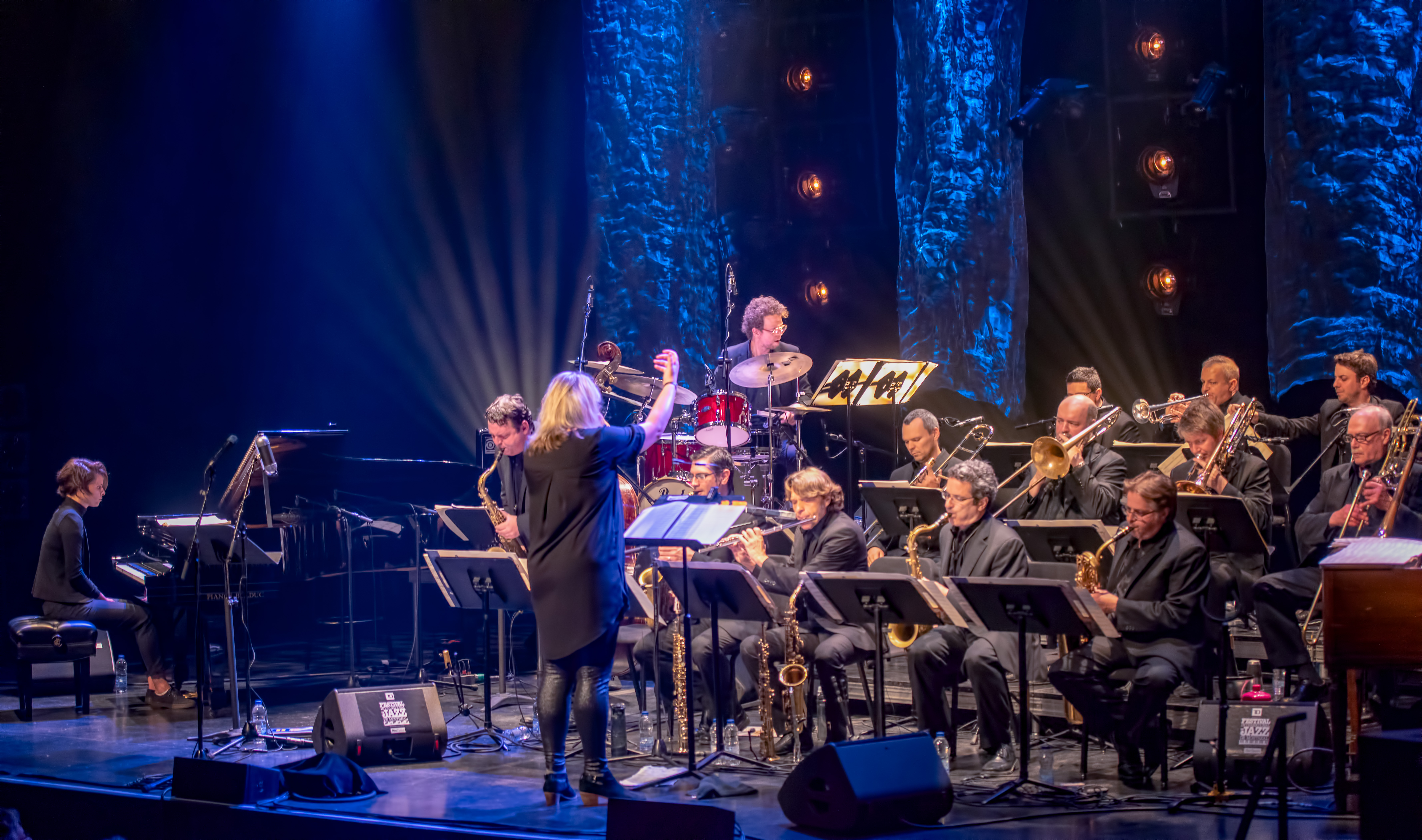 Christine Jensen And L'orchestre National De Jazz Montreal At The Montreal International Jazz Festival 2018