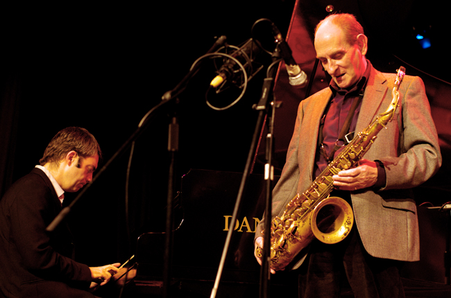 Bobby Wellins with Andrea Pozza, Under Ground Theatre, Eastbourne, UK