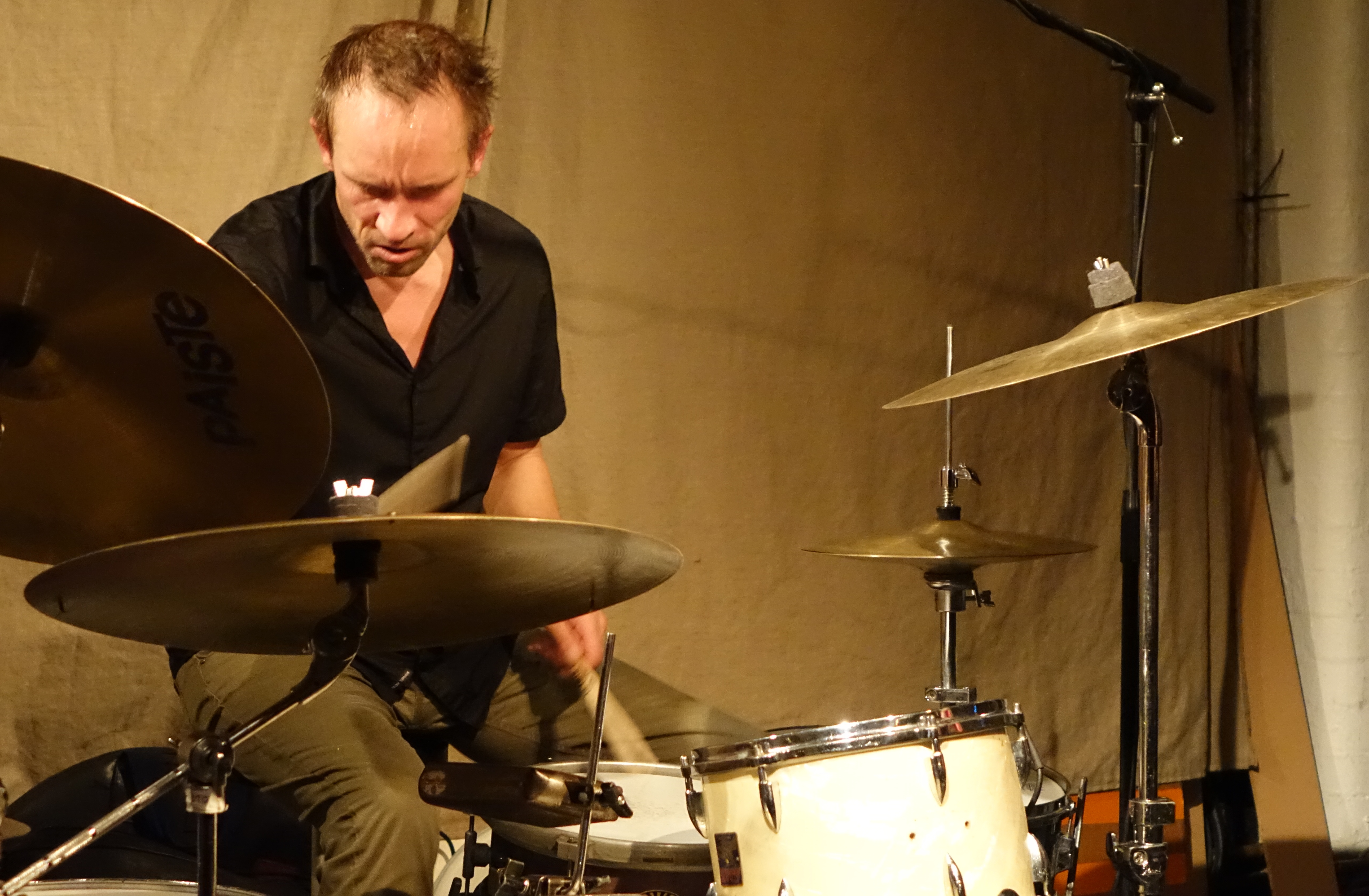 Paal Nilssen-Love at Cafe Oto, London in September 2018