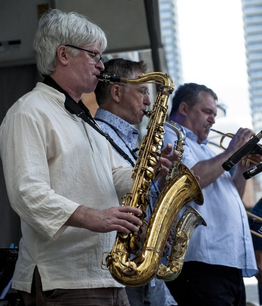 Mike Murley - Vern Dorge - Kevin Turcotte - Toronto Jazz Festival 2017 - Toronto