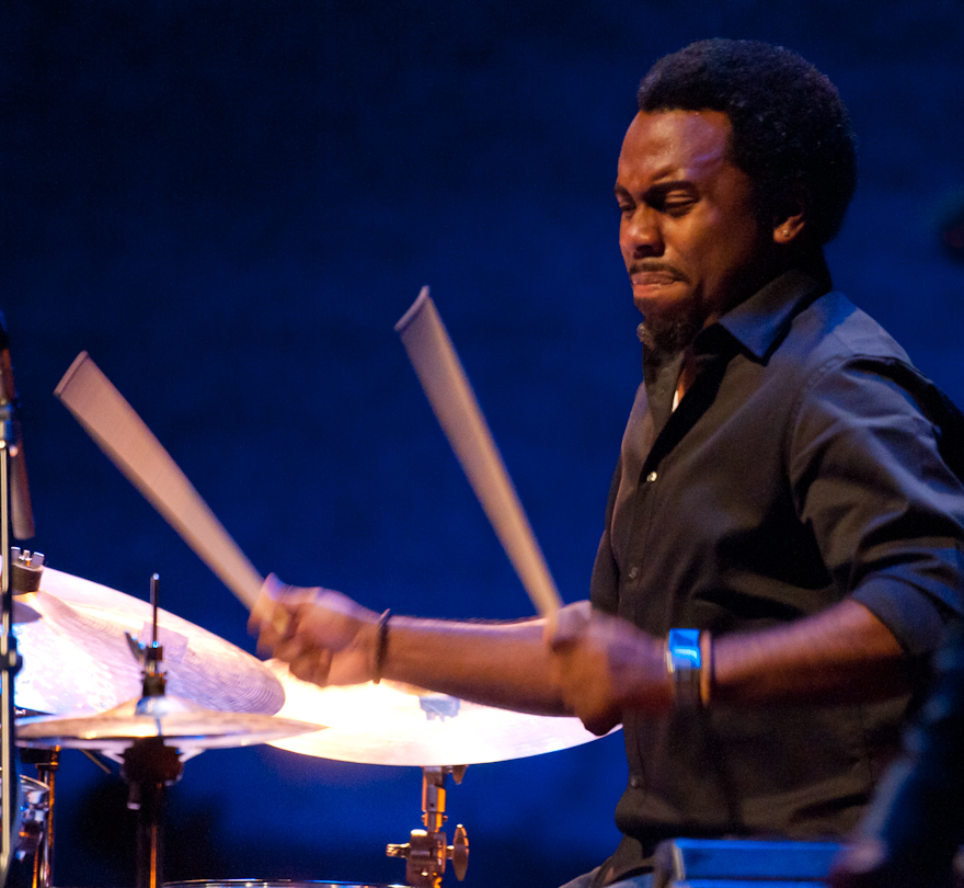 Nate Smith with the Dave Holland Quintet at the Montreal International Jazz Festival