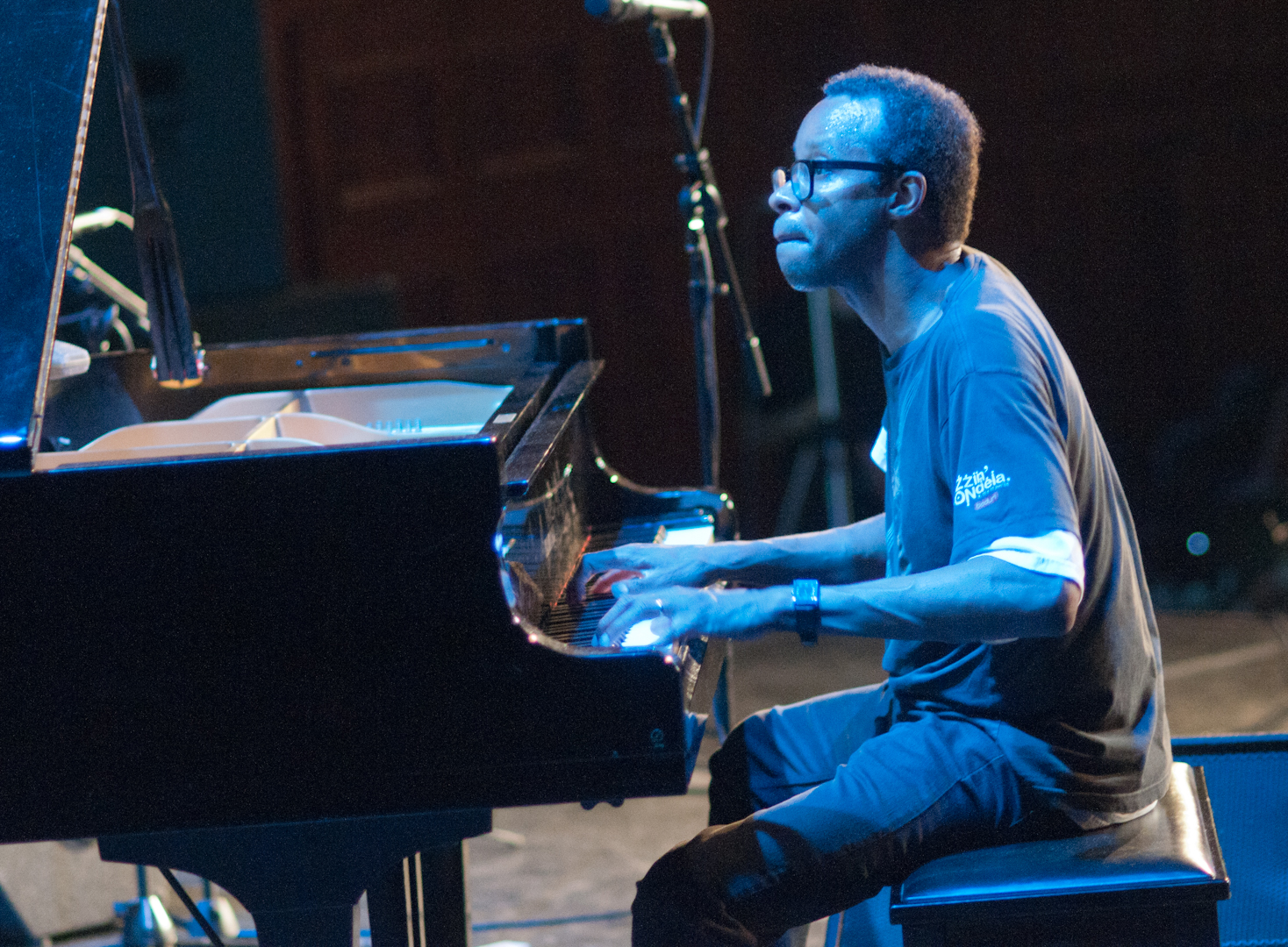 Matthew Shipp in Duo with Evan Parker at at the Vision Festival 2011