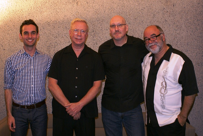 New Gary Burton Quartet: San Diego, California, October 12, 2011