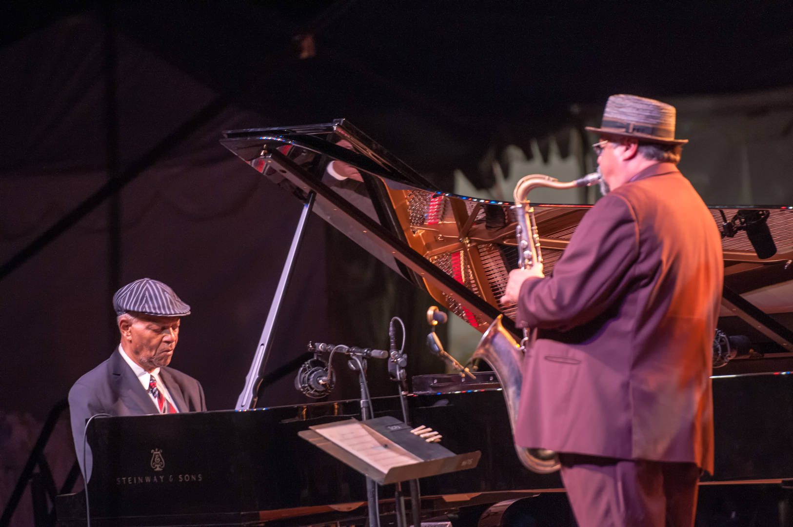 Mccoy tyner and joe lovano at the scottsdale performing arts center
