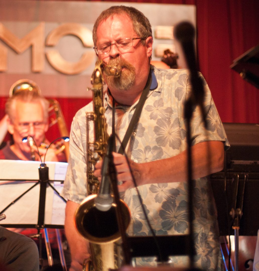 Jed Levy with the Bill Mobley and the Smoke Big Band
