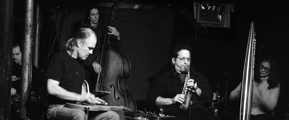 Hanuman Ensemble; Andy Haas, Don Fiorino, Mia Theodoratus, David Gould, Matt Heyner and Dee Pop - CBGB's Lounge 2004