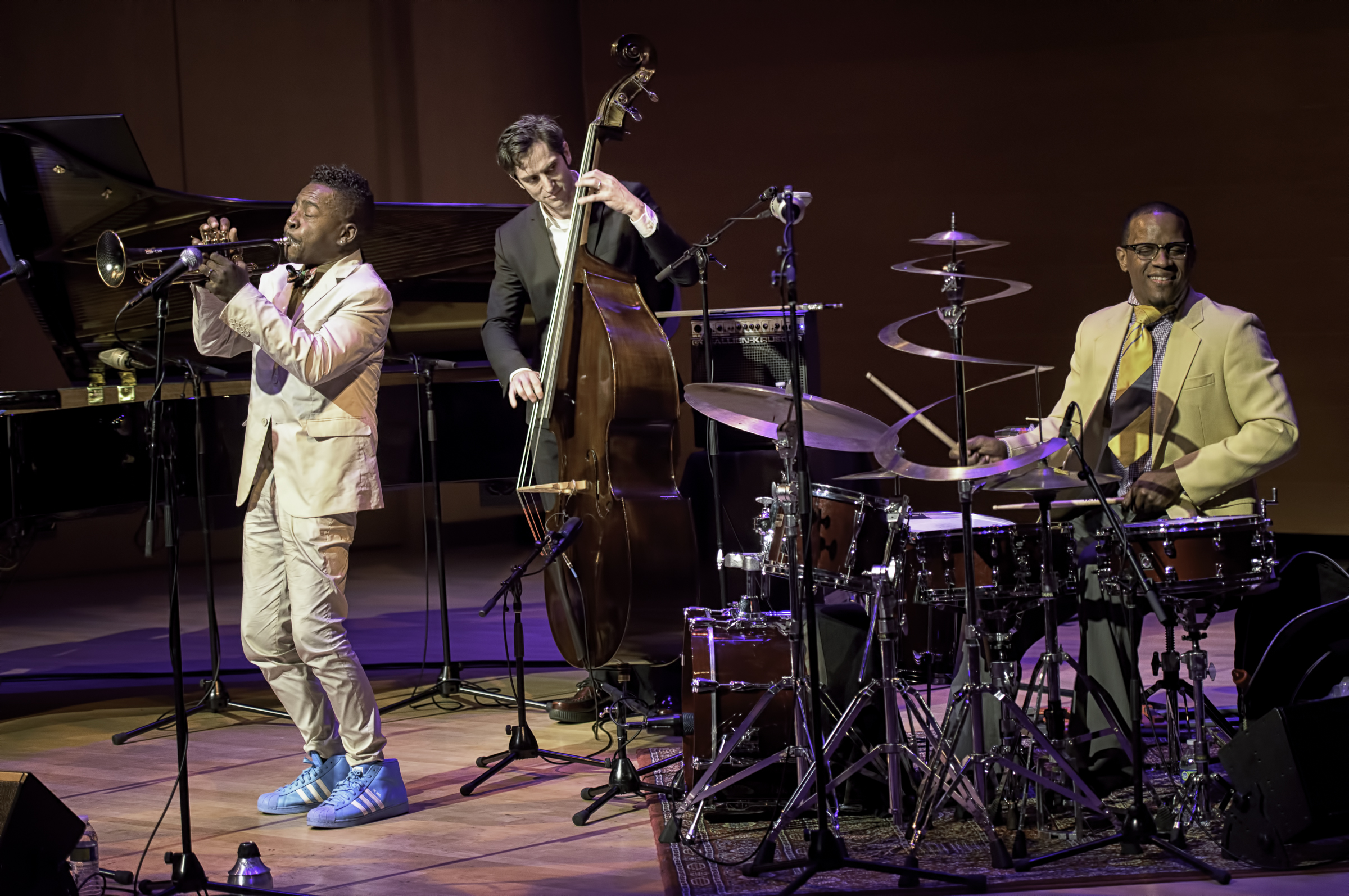 Roy Hargrove Danton Boller and Quincy Phillips with the Roy Hargove Quintet At The Musical Instrument Museum (MIM) In Phoenix