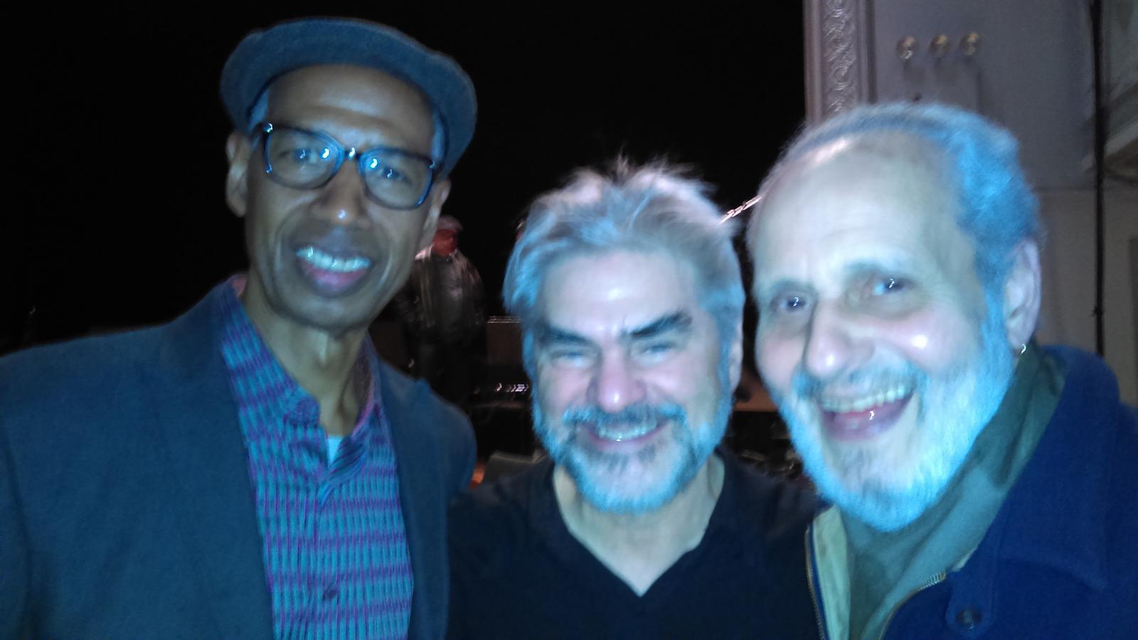 Vincent Chancey, Ken Filiano, Richard Berger